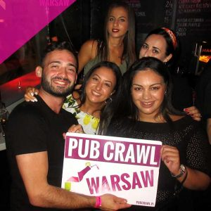 Pub Crawl Warsaw Ticket