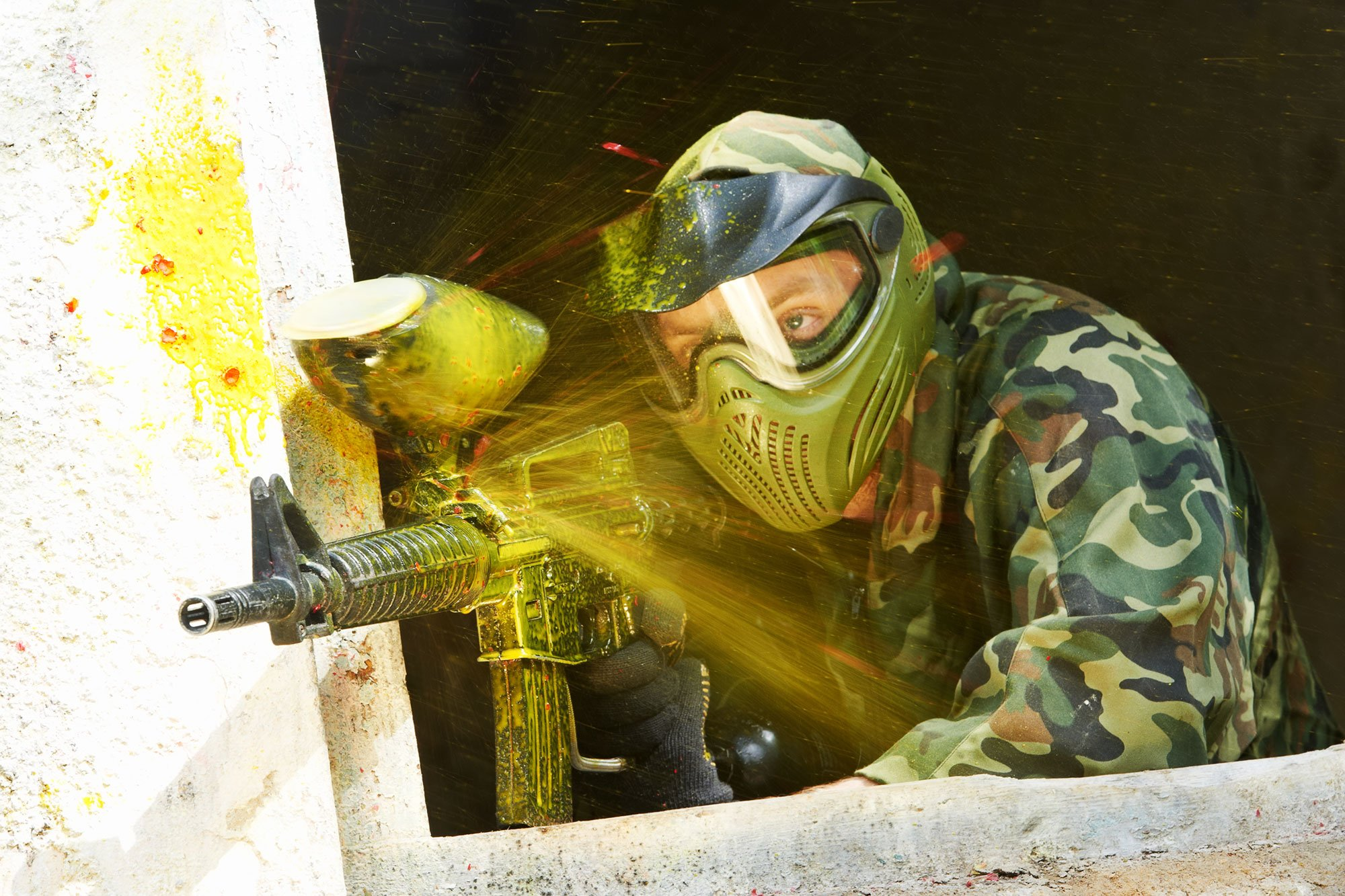 Paintball in Warsaw for groups