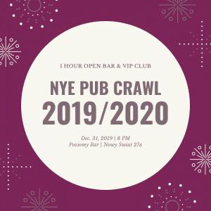 Pub Crawl NYE 2021/2022
