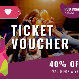Ticket Voucher -40%
