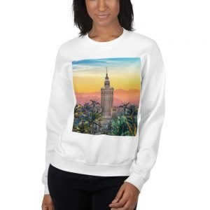 Unisex Sweatshirt Warsaw Sunset