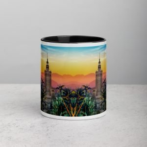 Mug with Warsaw Sunset