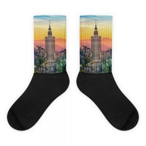 Socks Warsaw Sunset